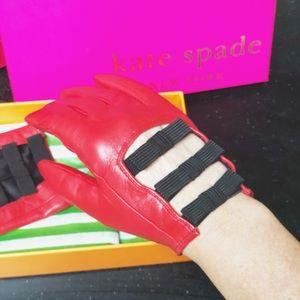 ❤️♠️KATE SPADE Leather GLOVES Tech-friendly♠️❤️